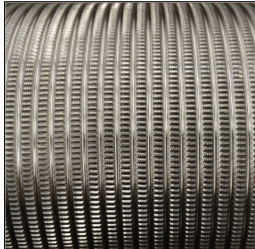 Sanitary Pulley Knurling