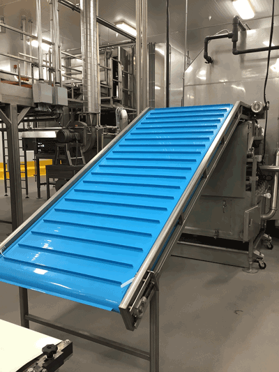 Blue Conveyor Belts