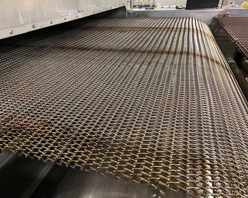 Replacement Wire Mesh Conveyor Belts