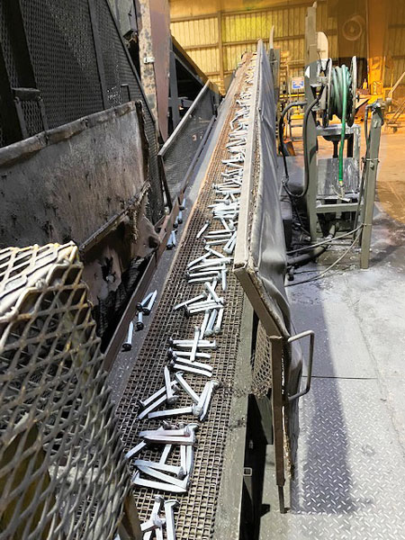 Replacement Metal Conveyor Belts